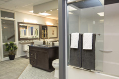 The Design Studio - Bathroom Options | Randall Homes - Show Home - Winnipeg - Manitoba