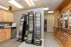 The Design Studio - Flooring Materials | Randall Homes - Show Home - Winnipeg - Manitoba