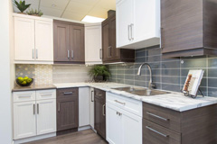 The Design Studio - Kitchen Options | Randall Homes - Show Home - Winnipeg - Manitoba