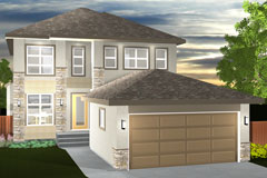 The Danville B-15 | Randall Homes - Home Builders - Winnipeg - Manitoba