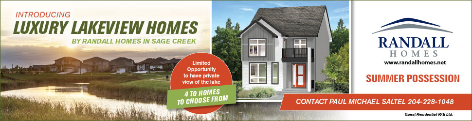 Introducing Luxury Lakeview Homes by Randall Homes in Sage Creek!