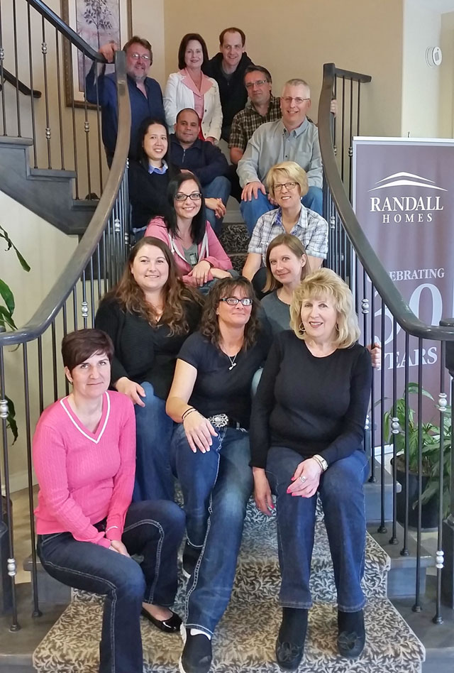 Randall Homes took part in National Demin Day - supporting the fight to end breast cancer - Custom Homes